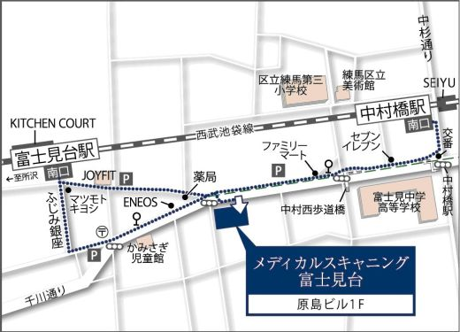 Map_富士見台