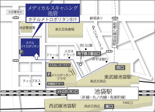 Map_池袋