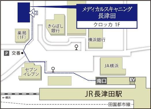 Map_長津田
