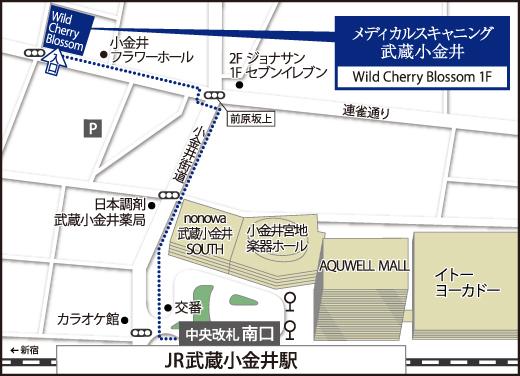 Map_武蔵小金井