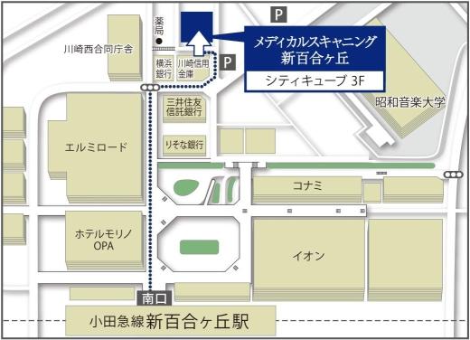 Map_新百合ヶ丘