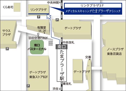 Map_たまプラーザ