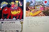 アジアの子供たちの絵日記
